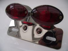 Rear light cat eye double stop and tail with bracket streetfighter custom trike
